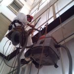 Edilizia: pulizia vetrate